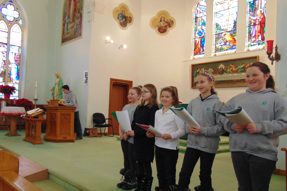 School Mass January 2016